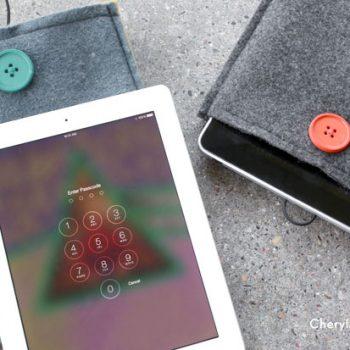 Felt iPad Sleeve