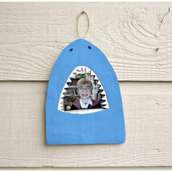 Shark Bite Picture Frame
