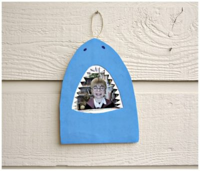 Shark Bite Picture Frame | Fun Family Crafts
