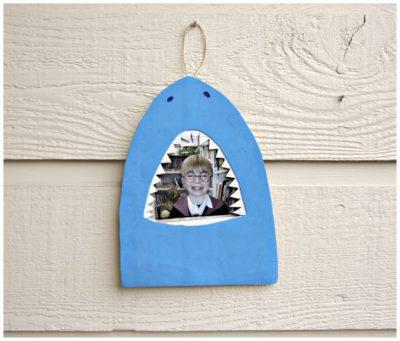 Shark Bite Picture Frame
