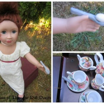 Victorian Egg and Spoon Race Doll Craft