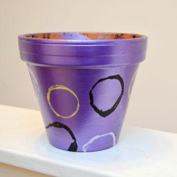 Decorated Flowerpot