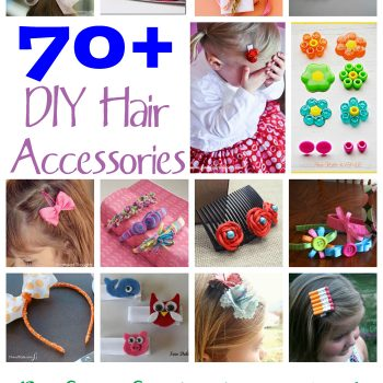 70+ DIY Hair Accessories