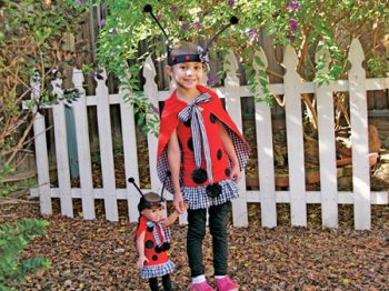 Ladybug Costume with Cape