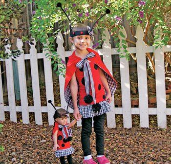 Ladybug Costume with Cape
