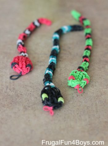 Loom Band Snakes