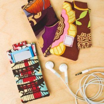 Fabric MP3 Case