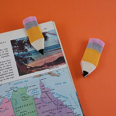 Pencil Bookmarks