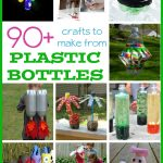 90+ Plastic Bottle Crafts for Kids - so many fun ideas here! And for all ages too, definitely worth browsing through this collection!