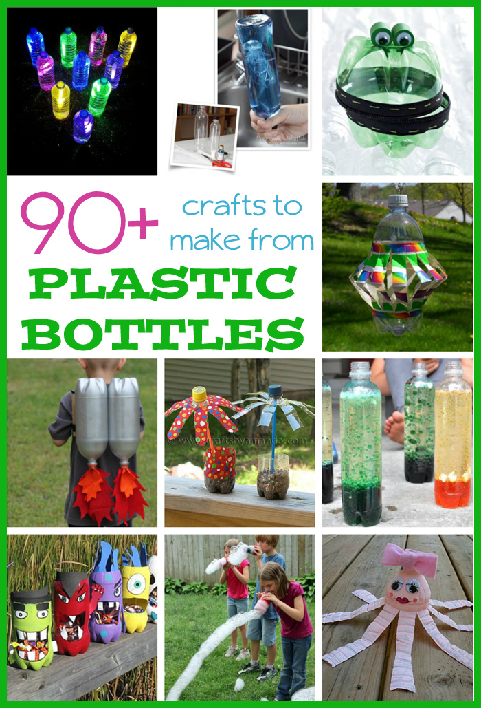 90  Plastic Bottle Crafts for Kids Fun Family Crafts Eqy5B5Oh
