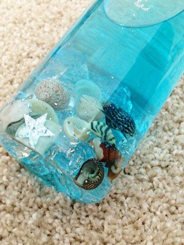 Sea In A Bottle Fun Family Crafts