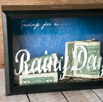 Shadow Box Bank Fun Family Crafts