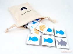 Don't Wake the Shark Matching Game