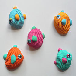 Tropical Seashell Fish