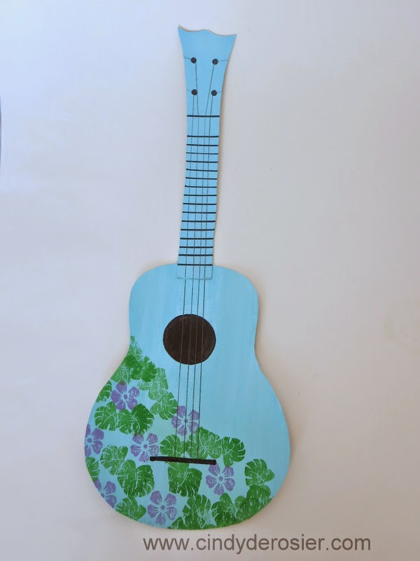 Ukulele archives fun family craftsfun family crafts for Decoration ukulele
