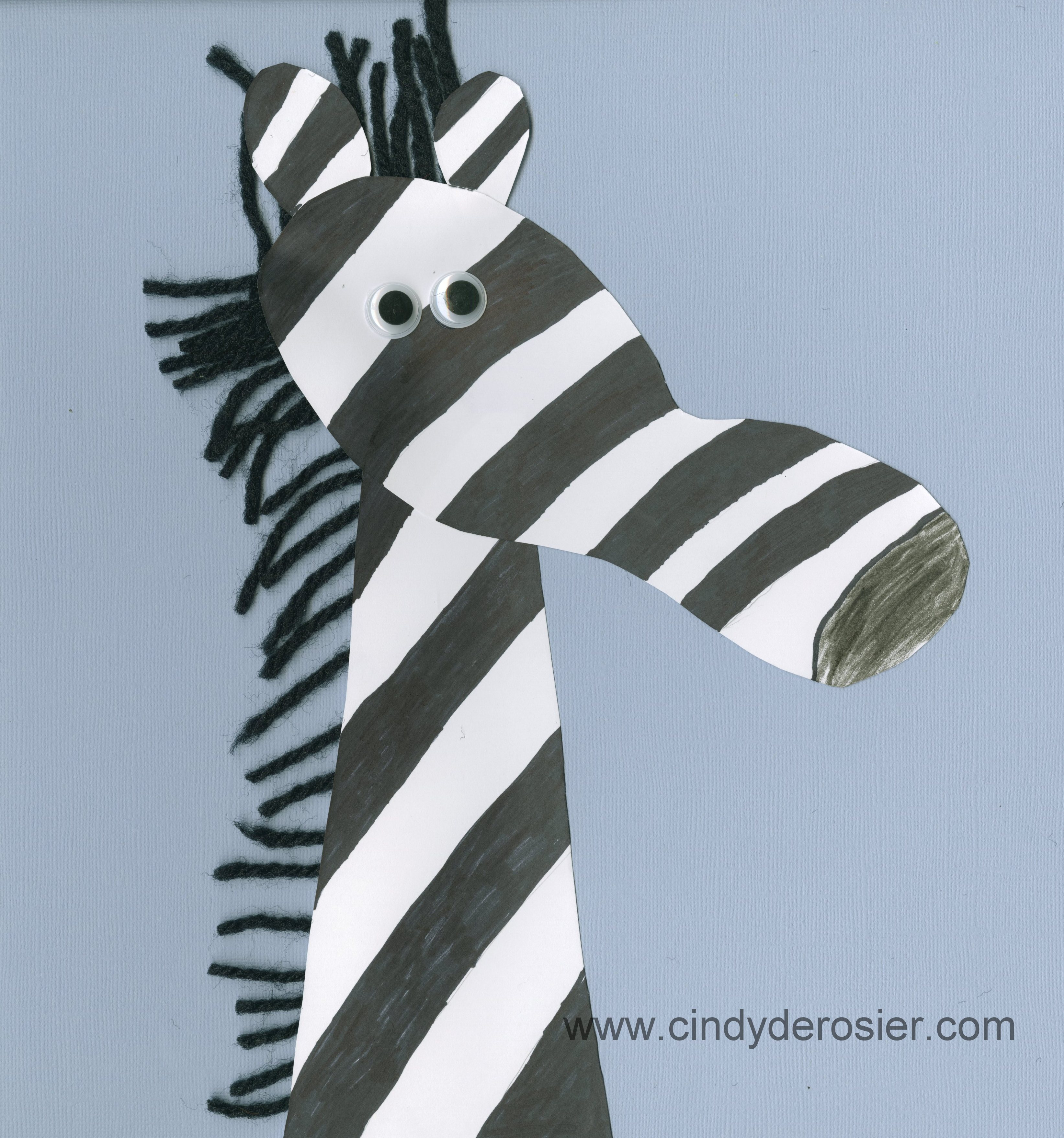 Permalink to Zebra Footprint Craft