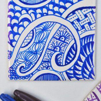 Doodle Coasters