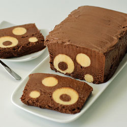 Polka Dot Chocolate Semifreddo