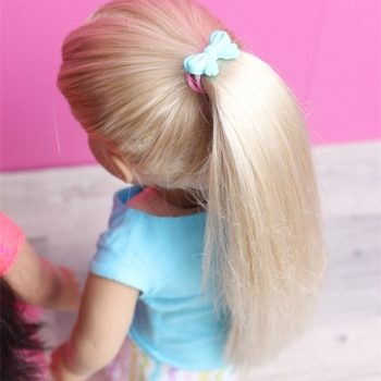 Ponytail Holders for You and Your Doll
