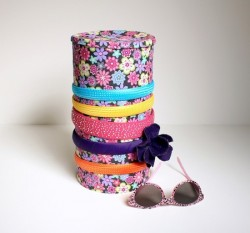 Fabric-Covered Headband Holder