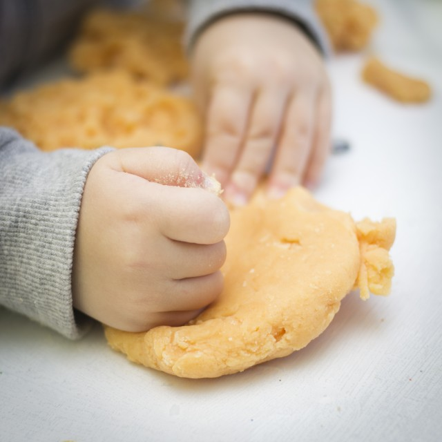 No-Cook Playdough