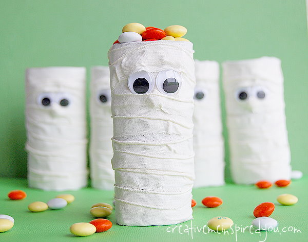 Mummy Treat Tubes