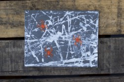 Spider Web Marble Art