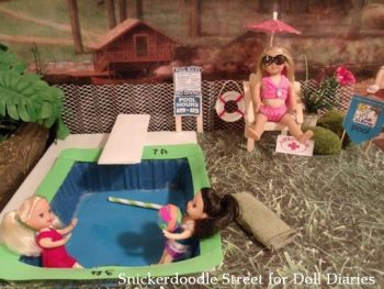 Mini Doll Swimming Pool