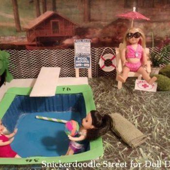 Mini Doll Swimming Pool