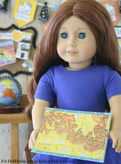 Doll-Sized Maps