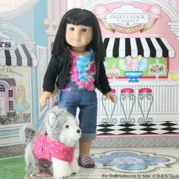 No-Sew Doll-Size Pet Clothes