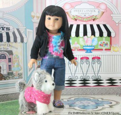 No-Sew Doll-Size Pet Clothes