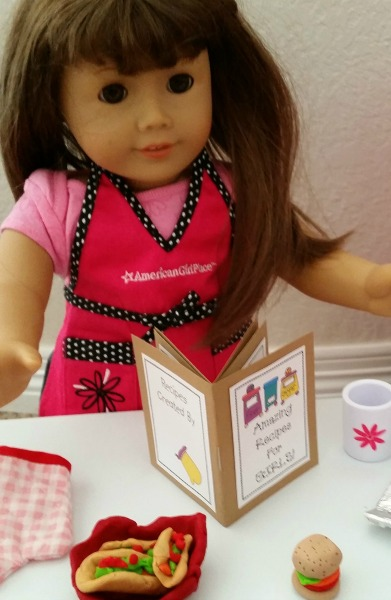 Doll-Sized Cookbook