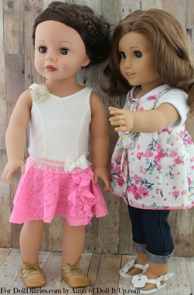 No-Sew Circle Skirt for Dolls