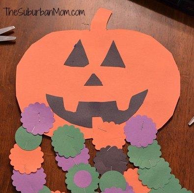 Halloween Countdown Pumpkin