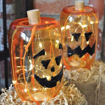 Glass Jack-o-Lanterns