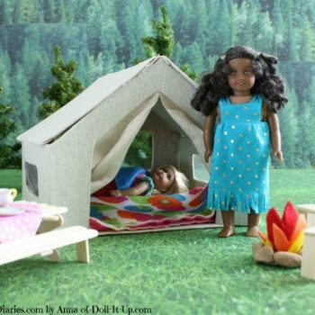 Doll-Sized Tent