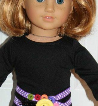 Zipper Doll Belt