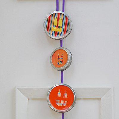 Jack O' Lantern Door Hanger