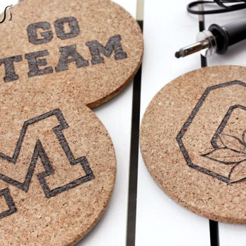 Cork Game Day Trivets