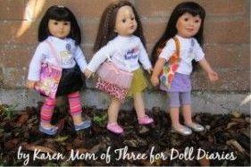 Doll-Size Dance Bag