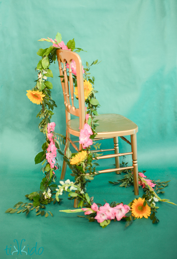 Real Flower Garland