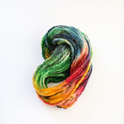 Mess-Free Dyed Yarn