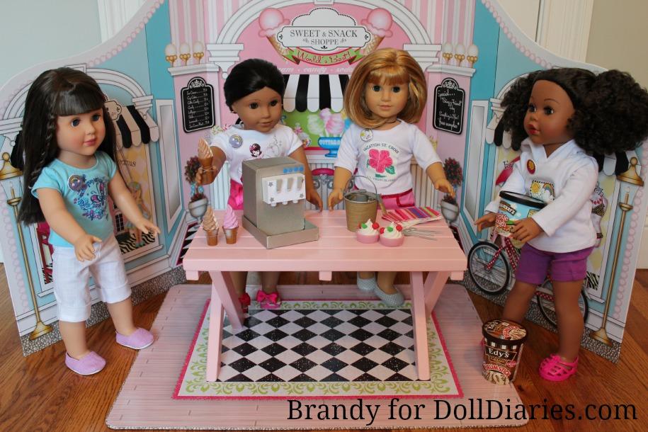 Doll-Size Ice Cream