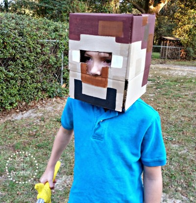 Easy Minecraft Costume