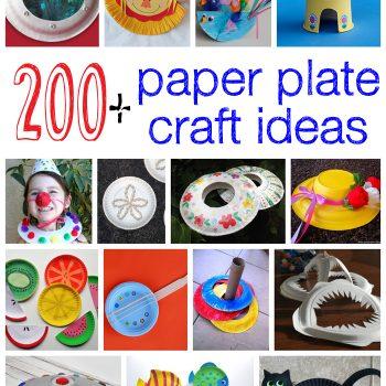 200+ Paper Plate Crafts