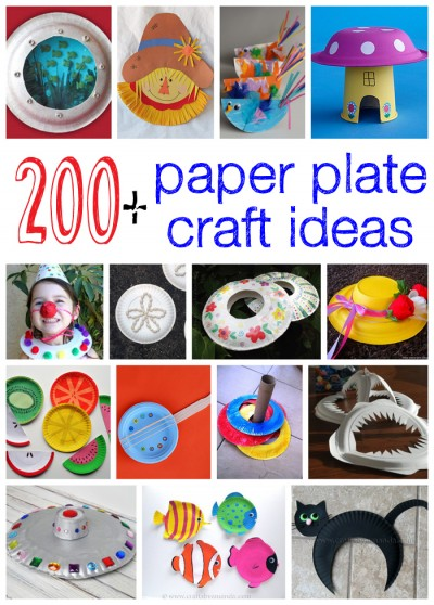 200 Paper Plate Crafts Fun Family Crafts