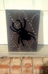 Pom Pom Spider Decoration