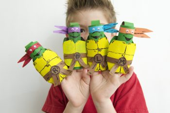 TMNT Finger Puppets