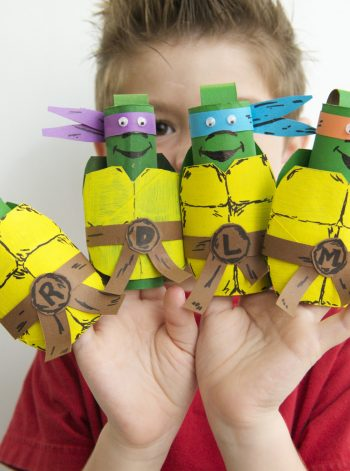 TMNT Finger Puppets